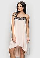"""Платье """"GLAM"""" бежевое"""