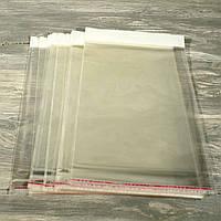 Пакет полипропиленовый с клапаном и липкой лентой 349 (высота 25 см*ширина 19 см) Упаковка 100 шт