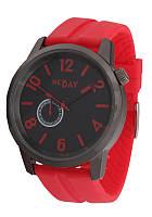 Часы мужские на красном ремне NDM326h