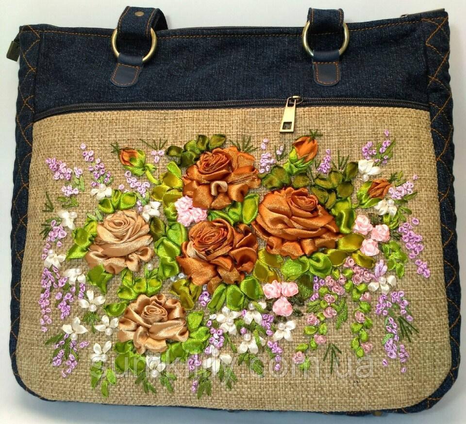 Женская сумка саквояж Фаина