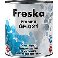Грунтовка алкідна антикорозійна 2,8кг ГФ021 87 Червонокоричнева ТМFRESKА