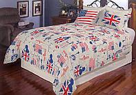 """Двоспальне постільна білизна """"Голд"""" - Британія"""