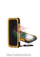 Power bank Solar Оранжевый