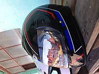 Шлемы для мотоциклов Hel-Met 150 черный глянец