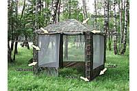 Шатер тент палатка павильон с москитной сеткой со стенками Польша 3 х 3 х 2 м