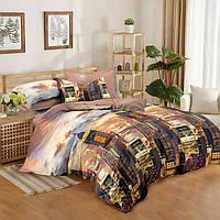 """Полуторный комплект постельного белья 150*220 из сатина  """"Нью-Йорк"""""""