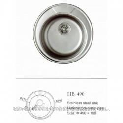 Мойка кухонная IMP 490*180*06 (Polish)