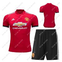 Футбольная форма Манчестер Юнайтед 2017-2018. Основная форма