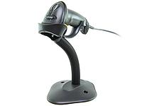 Сканер штрих-кодов Motorola Symbol LS-2208, USB, с подставкой, черный