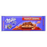 Шоколад Milka ореховая карамель 300 гр.