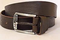 Кожаный мужской ремень Tommy Hilfiger-коричневый
