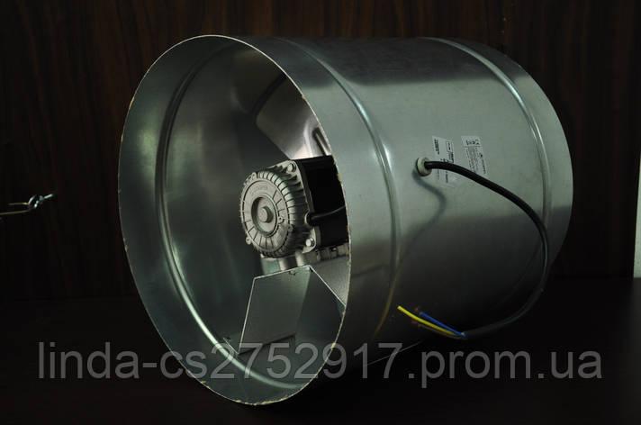 Вентилятор канальный WB 200, вентилятор осевой канальный, вентилятор промышленный, фото 2