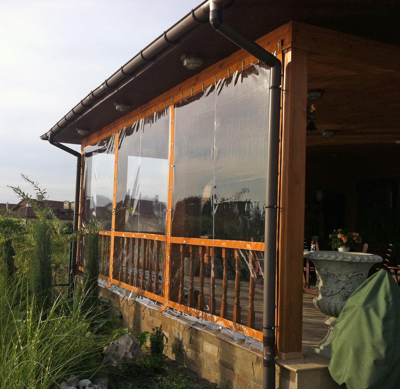 Мягкие окна в Киеве для веранды, Шторы из пвх от 490 грн