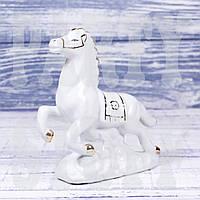 Статуэтка Конь белый, 13 см