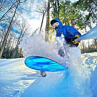 Выбор креплений к экшн-камере, для съемки заездов на сноуборде.