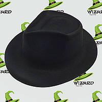 Шляпа Мужская флок Черный