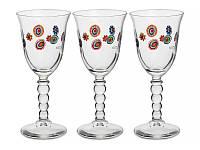 Набор бокалов для вина CERVE S.P.A. Мурано 3 шт