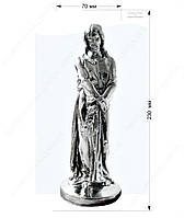Статуэтка - фигурка Иисус Христос (металлизация) Изделия из гипса и бетона