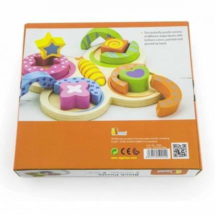 Пазл Бабочка Viga Toys (59924), фото 2