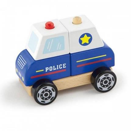 Полицейская машина игрушка Viga Toys (50201), фото 2