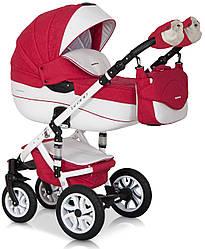 Детская коляска универсальная 2 в 1 Riko Brano Ecco 20 sport red (Рико Брано, Польша)