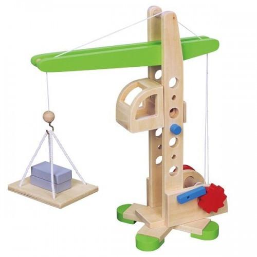 Подъемный кран игрушка Viga Toys (59698)