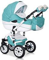Детская коляска универсальная 2 в 1 Riko Brano Ecco 15 malachit (Рико Брано, Польша)