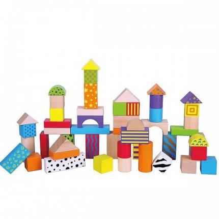 Набор кубиков Viga Toys (50 шт., 3 см.) (59695), фото 2
