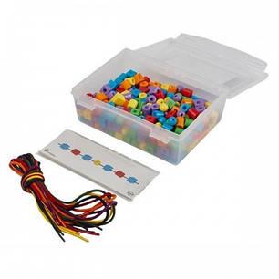 Пластиковые бусы - набор для обучения Gigo (1041-6R), фото 2