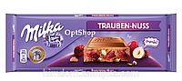 Шоколад Milka Trauben Nuss  орех+изюм 300 г