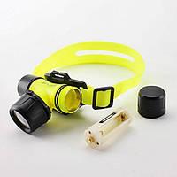 Налобный подводный фонарик для дайвинга BL-6800. Хорошее качество. Доступная цена. Дешево. Код: КГ2678