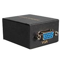 60м VGA для RJ45 Ethernet сигнал расширителя cat5e / 6 передатчика адаптера приемника