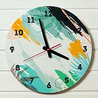 "Настенные часы  - ""Гавайи"" (на пластике)"