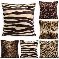 Леопард печати животных шаблон наволочка диван талии бросок Чехлы украшение дома
