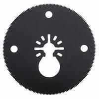 80 мм M20 Сегментный пильный диск HSS Цельный круговой осциллирующий мультитуль