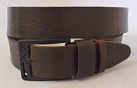 Кожаный мужской ремень 17коричневый