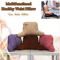 Шелкопряда фекалии защитить талии подушка домой диван офисный стул автомобиль мягкую подушку
