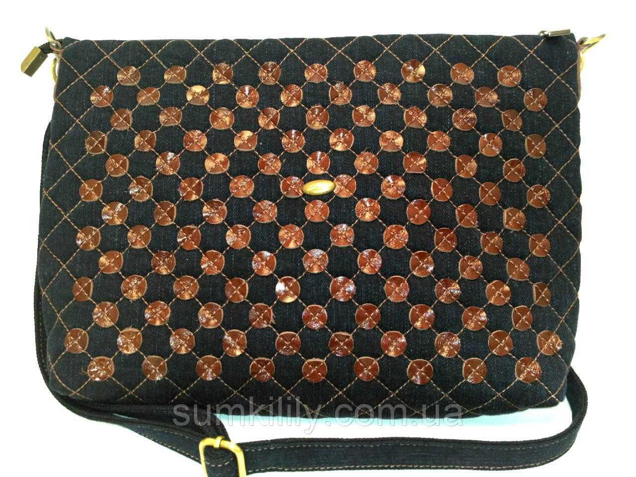Джинсовая сумочка Светлана