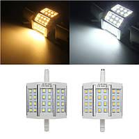 R7s 10w 24 LED S яркий 2835 440lm LED ЛАМПА свет наводнения замене ламп AC 85-265V нерегулируемых