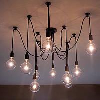 10 глава промышленного старинных Edison люстра подвесной светильник потолочный светильник