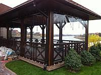 Шторы окна пвх для беседок, шторы для террасы, фото 1