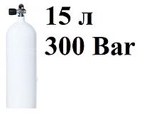 Стальные баллоны для дайвинга Vitkovice; 15 л; 300 Bar (без башмака!)