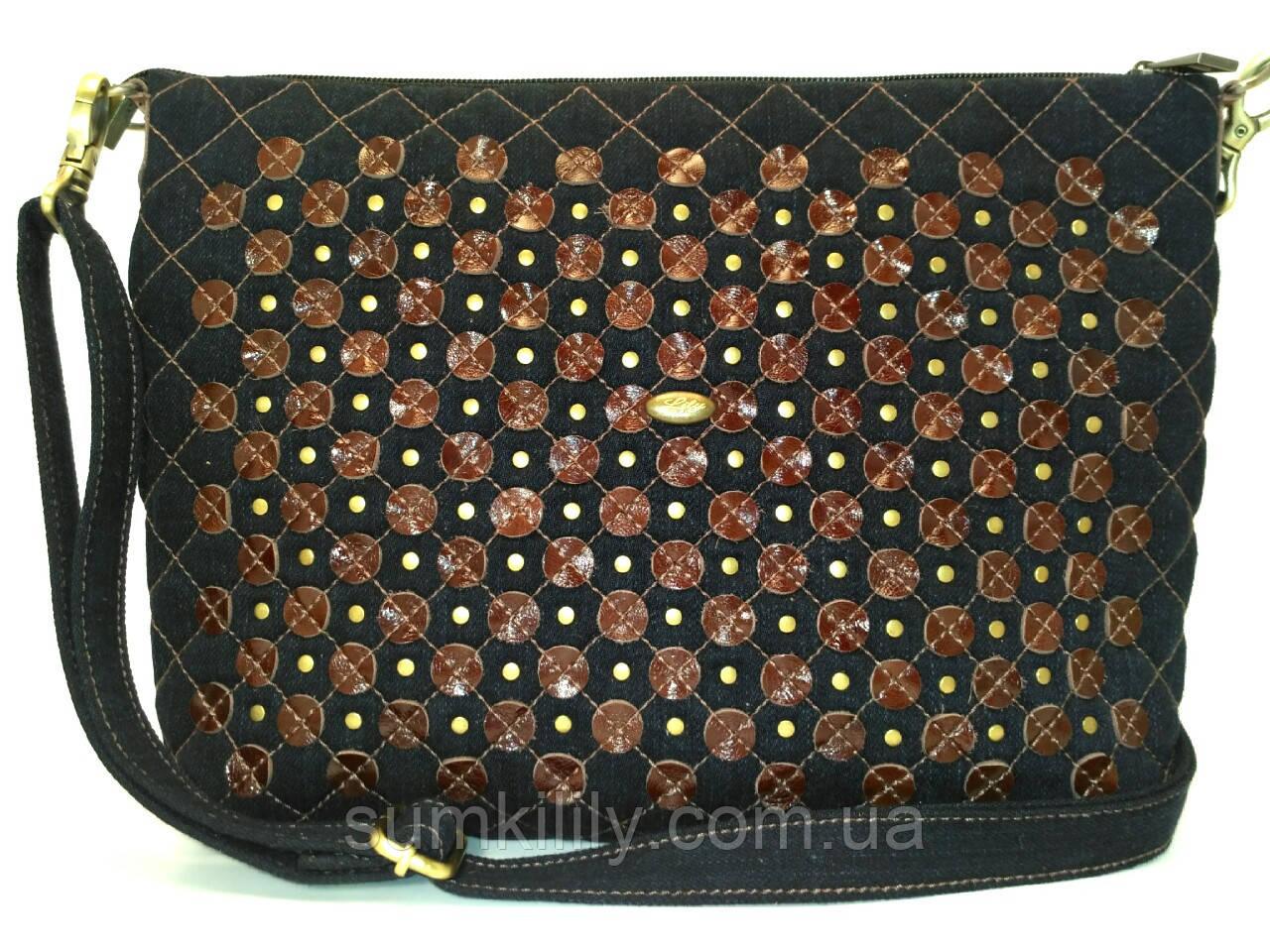 Джинсовая сумочка Тамара
