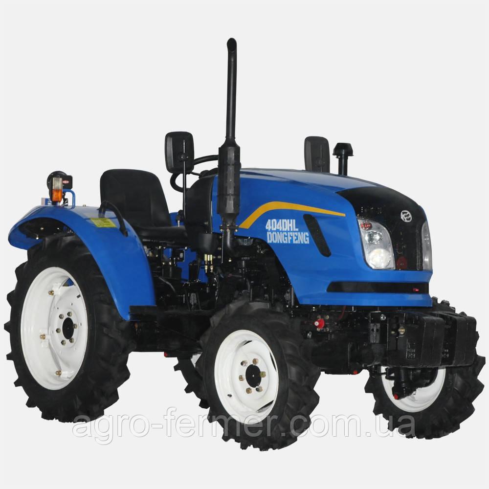 Трактор, міні-трактор DONGFENG 404 DHL (40 к. с., 4х4, 4-цил. диз. двигун, компресор)
