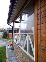 Защитные, мягкие прозрачные окна пвх и шторы., фото 1