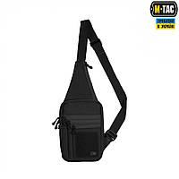 M-Tac сумка-кобура наплечная Elite с липучкой черная