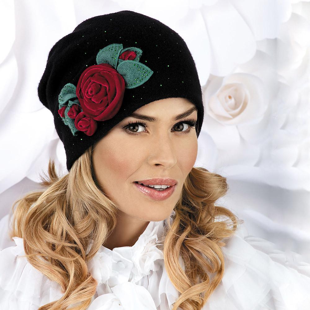 Элегантная модная шапочка Sofitesa от Willi Польша