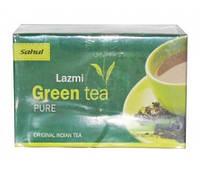 Органический зелёный чай Сахул (Lazmi Green Tea Pure Sahul) 40 гр - 20 пакетов