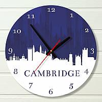 """Настенные часы  - """"Кэмбридж"""" (на пластике)"""