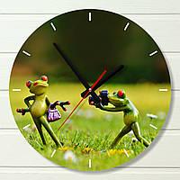 """Настенные часы  - """"Фотосессия"""" (на пластике)"""